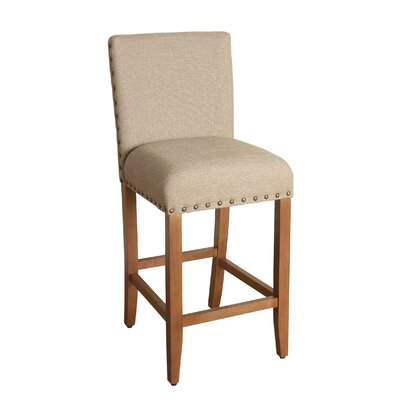 Arlene 29 Bar Stool Upholstery: Tan