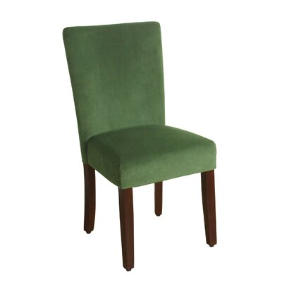 Arline Parsons Chair Upholstery: Forest Green