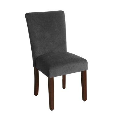 Arline Parsons Chair Upholstery: Gun Metal