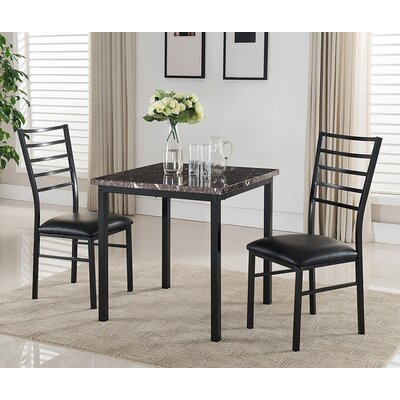 Kandi 3 Piece Dining Set