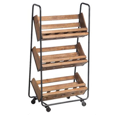 Ashbrook 15 Bottle Floor Wine Rack