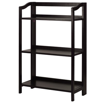Troy 36 Etagere Bookcase Finish: Espresso