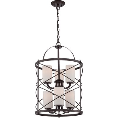Farrier 6-Light Foyer Pendant Finish: Old Bronze