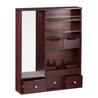 Apollo Over the Door Jewelry Armoire with Mirror