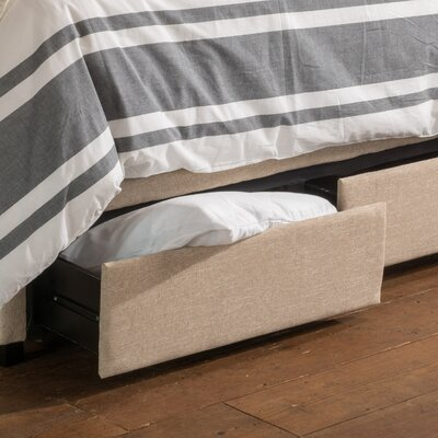 Arabian Upholstered Storage Panel Bed Size: Full