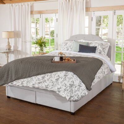Arana Upholstered Storage Panel Bed Size: Queen