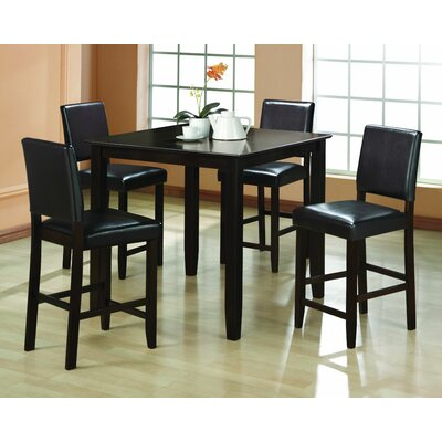 Ashleaf 5 Piece Pub Table Set