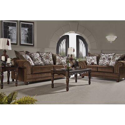 Serta Upholstery Aspen Sofa Upholstery: Stanza Coffee