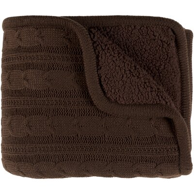 Aspinwall Throw Color: Dark Brown