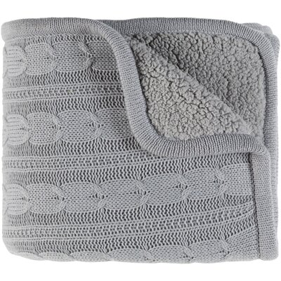 Aspinwall Throw Color: Light Gray