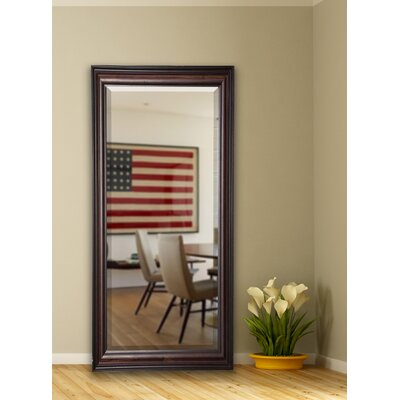 Dexter Walnut Full Length Beveled Body Mirror Size: 70 H x 29.5 W x 1 D