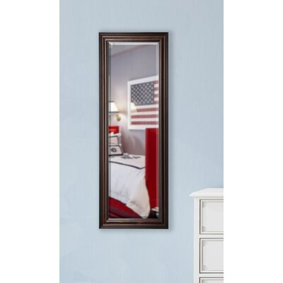 Dexter Walnut Full Length Beveled Body Mirror Size: 59 H x 20 W x 1 D