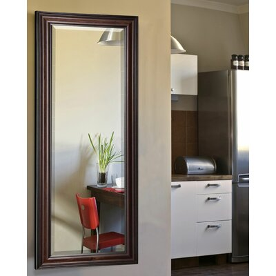 Dexter Walnut Full Length Beveled Body Mirror Size: 63 H x 25 W x 1 D