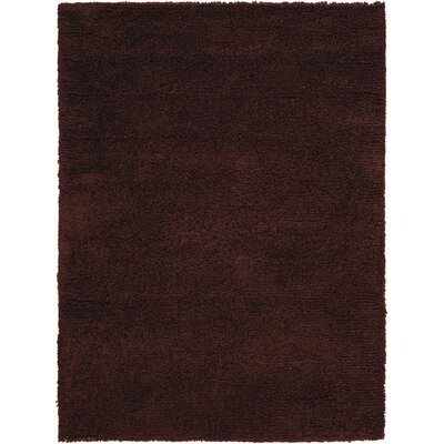 Atkins Hand-Tufted Chocolate Area Rug