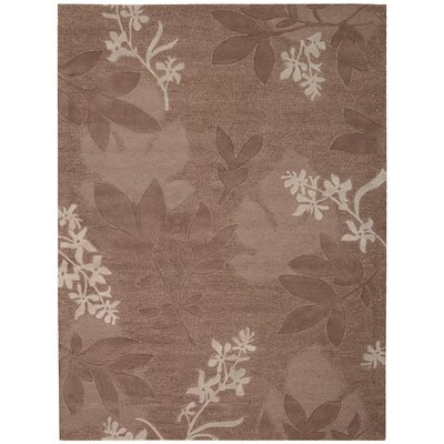 Attell Hand-Tufted Chocolate Area Rug