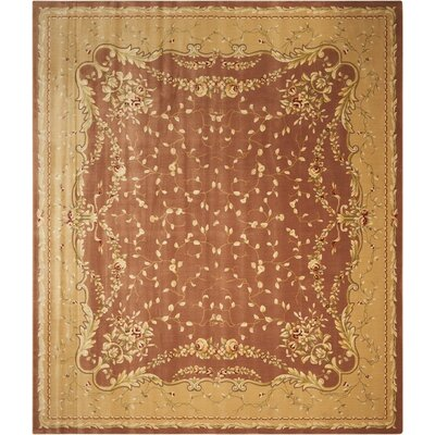 Chalet Coffee Area Rug Rug Size: 12 x 15
