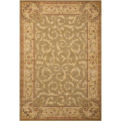 Chalet Light Green Area Rug Rug Size: Rectangle 12 x 18