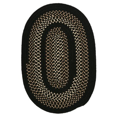 Omaha Onyx Indoor/Outdoor Area Rug Rug Size: Oval 10 x 13