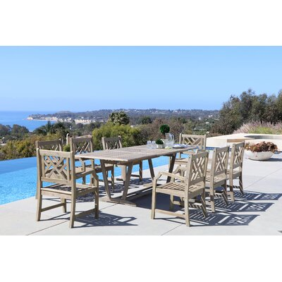 Densmore 9 Piece Dining Set