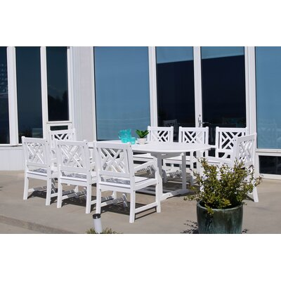 Mahler 9 Piece Dining Set