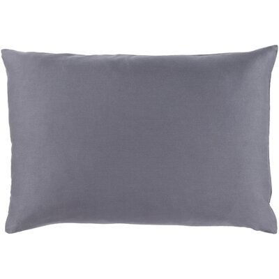 Jewett Lumbar Throw Pillow Color: Charcoal