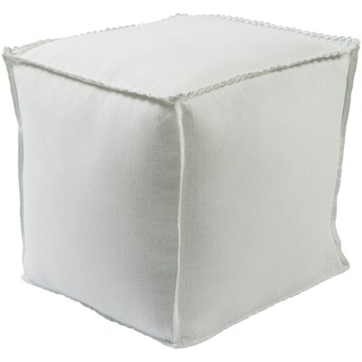 Ipava Pouf Ottoman Upholstery: Ivory
