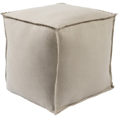Ipava Pouf Ottoman Upholstery: Beige