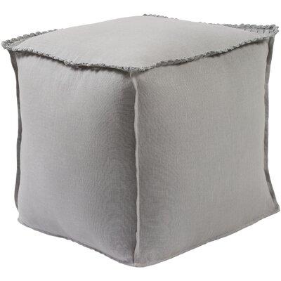 Ipava Pouf Ottoman Upholstery: Gray