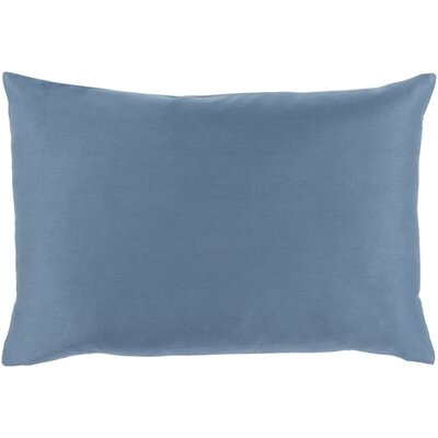 Jewett 100% Cotton Pillow Cover Color: Blue