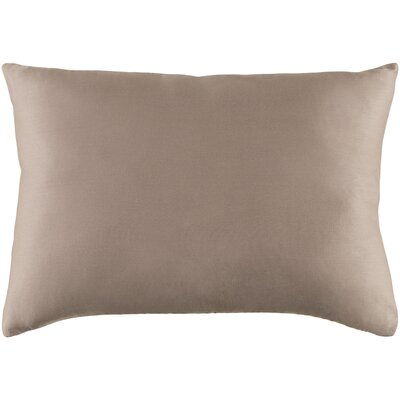 Jewett 100% Cotton Pillow Cover Color: Light Gray
