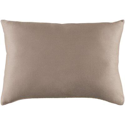Jewett 100% Cotton Pillow Cover Color: Light Gray