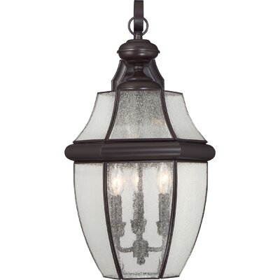 Saddler 3-Light Outdoor Wall Lantern