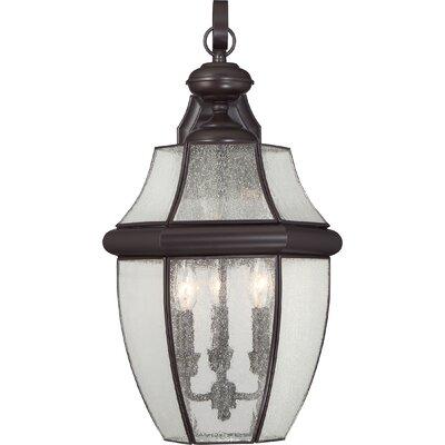 Saddler 3-Light Outdoor Wall Lantern