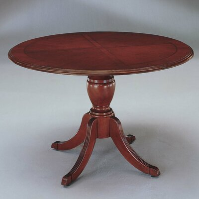 Prestbury Queen Anne Circular Conference Table Size: 4 L