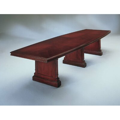 Prestbury 12 Boat Shaped Conference Table