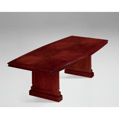 Prestbury 10 Boat Shaped Conference Table