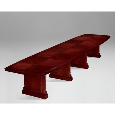 Prestbury Boat shaped 30H x 216W x 42L Conference Table Size: 18 L
