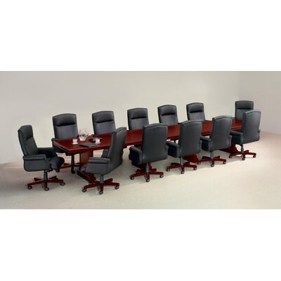 Prestbury Boat shaped 30H x 216W x 42L Conference Table Size: 16 L