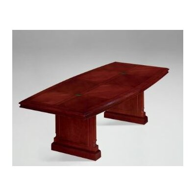 Prestbury Boat Shaped Conference Table Size: 10 L