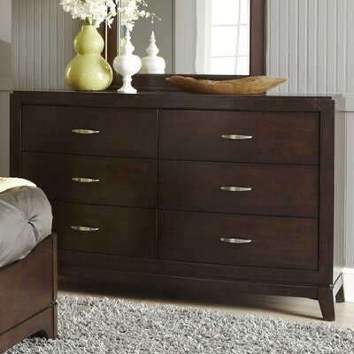 Loveryk 6 Drawer Double Dresser