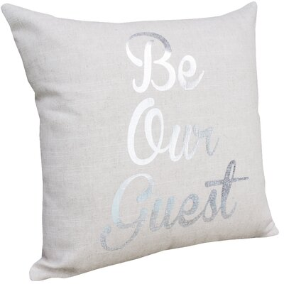 Fremont Be Our Guest Throw Pillow