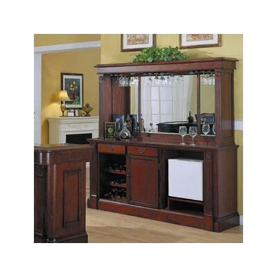 Selvidge Bar with Wine Storage