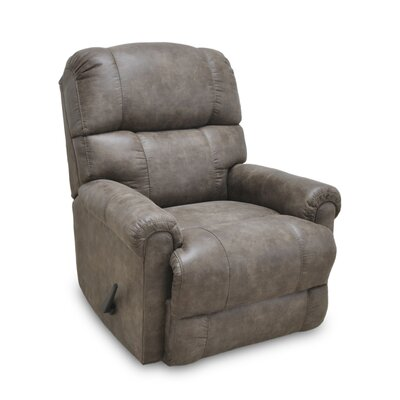 Alaine Manual Rocker Recliner Upholstery: Birch