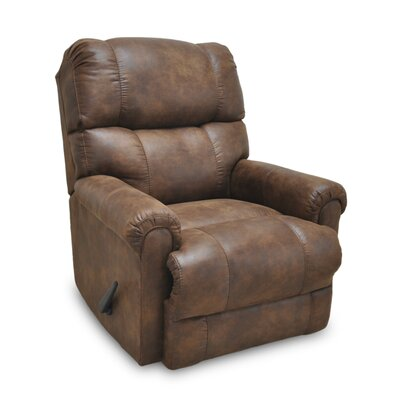 Alaine Manual Rocker Recliner Upholstery: Chestnut