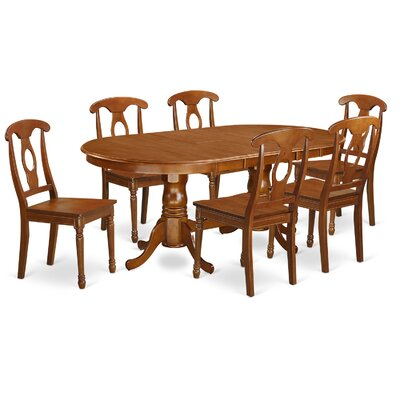 Germantown 7 Piece Dining Set Chair Upholstery: Non-Upholstered Wood