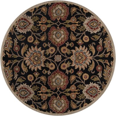 Ferrer Hand-Tufted Black Area Rug Rug Size: Rectangle 8 x 10