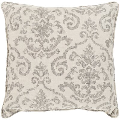 Fitchburg Indoor/Outdoor Throw Pillow Color: Beige, Size: 16 H x 16 W x 4 D