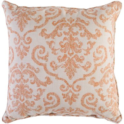 Fitchburg Indoor/Outdoor Throw Pillow Size: 20 H x 20 W x 0.25 D, Color: Burnt Orange