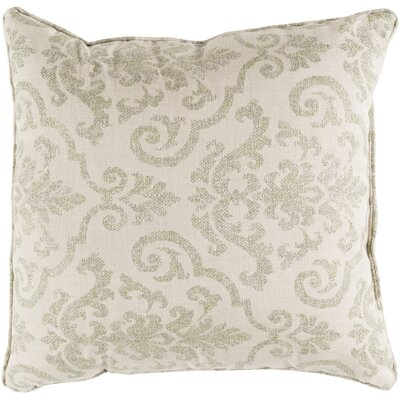 Fitchburg Indoor/Outdoor Throw Pillow Size: 20 H x 20 W x 0.25 D, Color: Olive