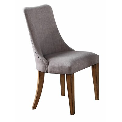 Forestville Side Chair (Set of 2) Upholstery Color: Gray